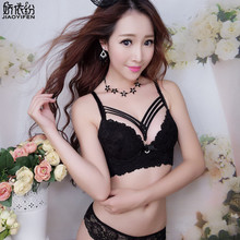 Buy JYF Brand Women Noble Underwear Set B Cup Sexy Young Girl Lace Japan Bra Set Embroidery Sexy Lingerie Deep V Push Bra Sets for $9.12 in AliExpress store