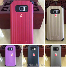 Luggage Armor Hybrid Hard PC Soft TPU Case Samsung Galaxy NOTE7 NOTE 7 Iphone I7 Plus Suitcase Carrier Phone Cover Skin - Saleonline store