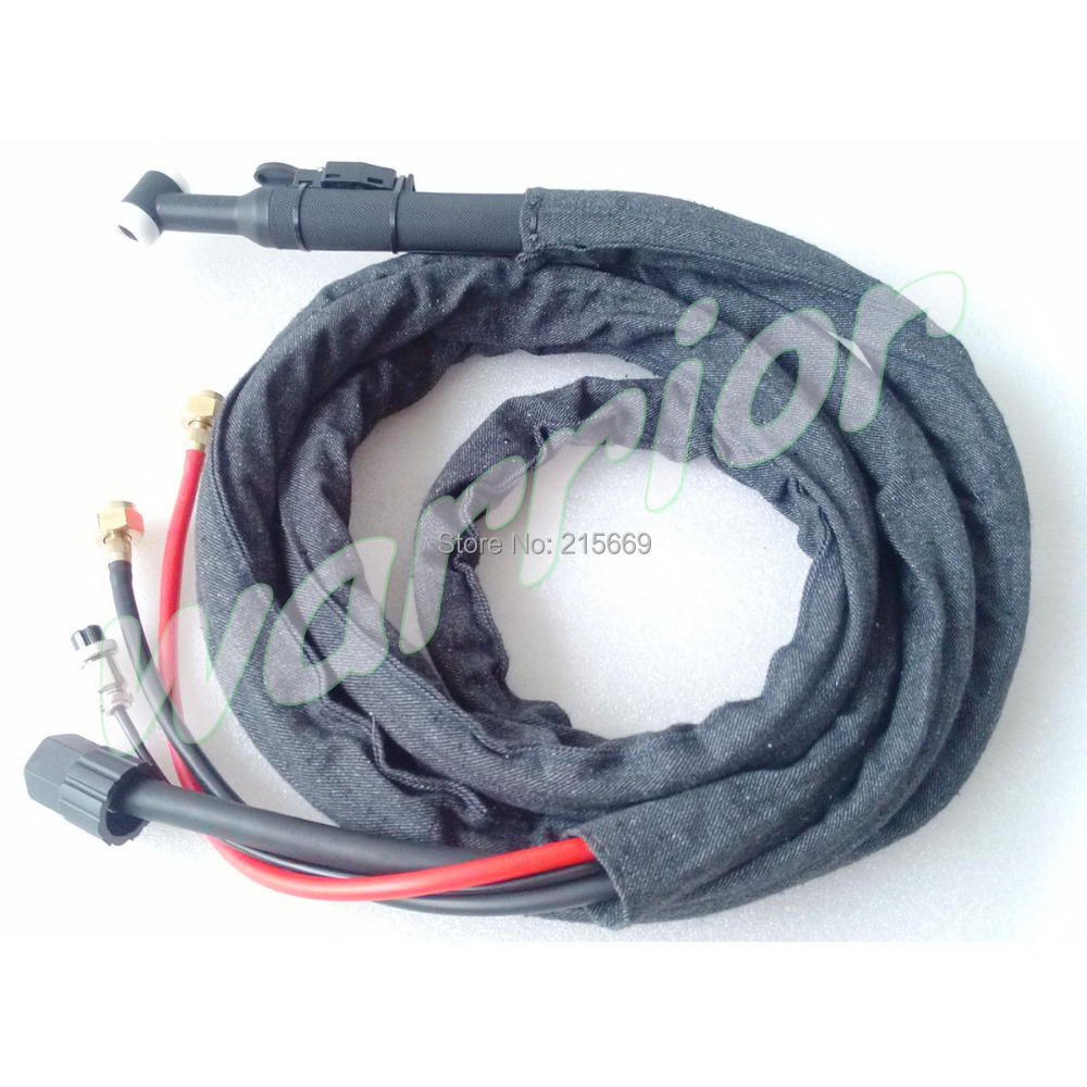 WP 18 Water Cooled TIG Welding Torch 4 Meters Cable Cloth Cover(China (Mainland))
