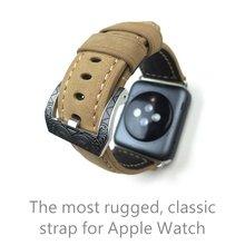 42MM Matte Leather Watchbands,Special Design Leather Watch Strap,For Iwatch Apple Watch Watchbands