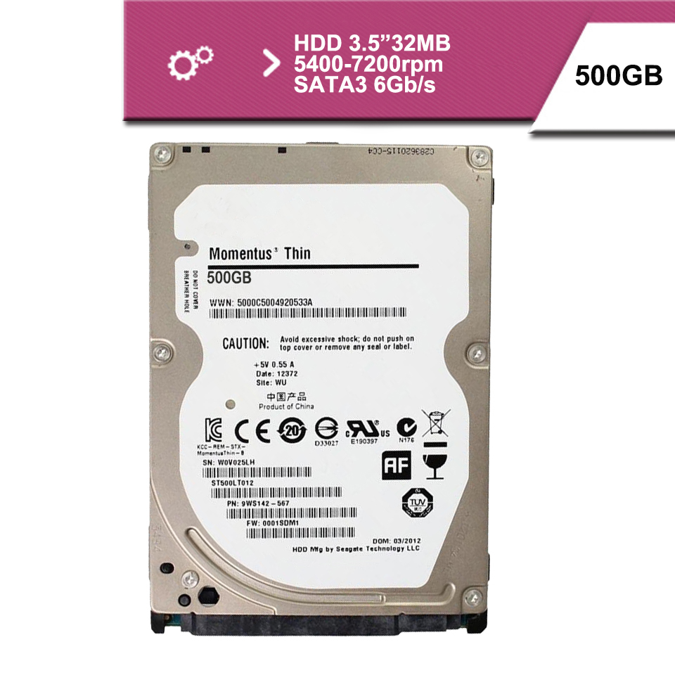 "Brand Sealed 2.5 ""500GB sata2 1.5GB/s notebook hdd hard disk drive 8mb 5400rpm(China (Mainland))"