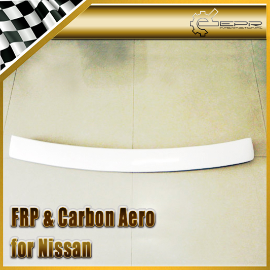 Car Styling For Nissan Cefiro A31 Dmax Style FRP Fiber Glass Rear Roof Spoiler(China (Mainland))
