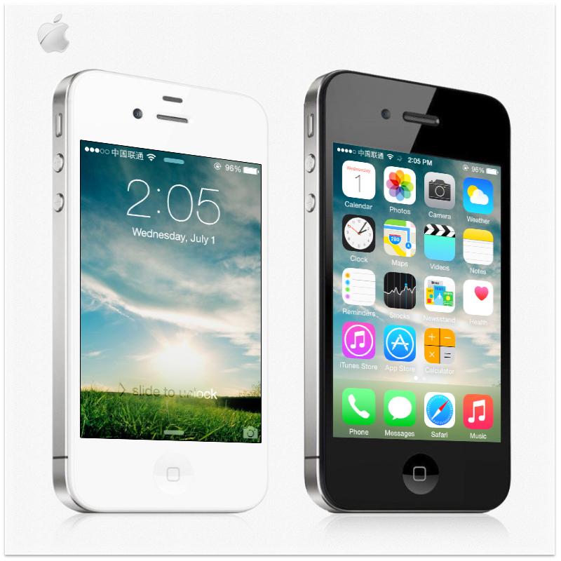 "Original Apple iPhone 4 Unlocked Dual Core Smartphone IOS 8 3.5""IPS 5MP WIFI 16GB/32GB ROM Used Phone 1420mAh(China (Mainland))"