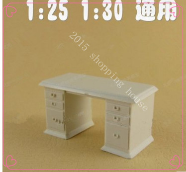 Scale model building materials DIY ABS Mini furniture table &for baby toys 1:30(China (Mainland))