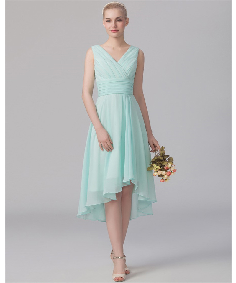 Bridesmaid dresses short front long back promotion shop for Cheap wedding dresses under 50 dollars