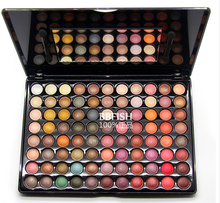 88 Pro Full Color Neutral Warm Eyeshadow Palette Makeup Cosmetic Palette Brush Kit Eye Shadow Brand New Cosmeticos Kit Dropship(China (Mainland))