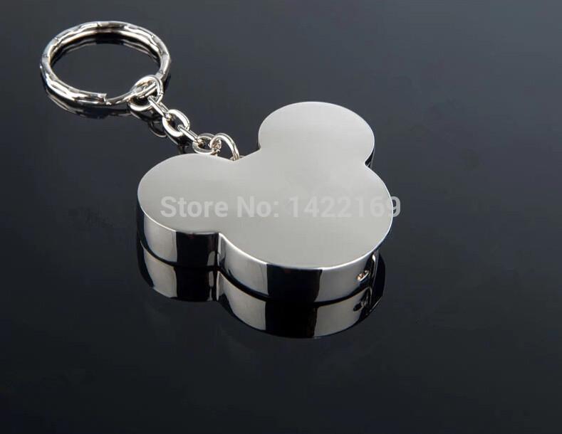 Free Shipping Hot Sale Mickey USB Flash Drive pen drive memory Disk Gift metal Diamond Crystal Pen Drive 4GB 8GB 16GB 32GB 64GB(China (Mainland))