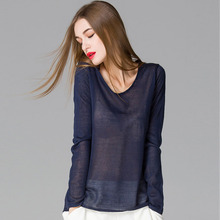 Wool Sweater Pullover Sweater Women Sexy See-through 80% Wool Women Sweater Elegant Thin Autumn Winter Sweaters Pullover(China (Mainland))