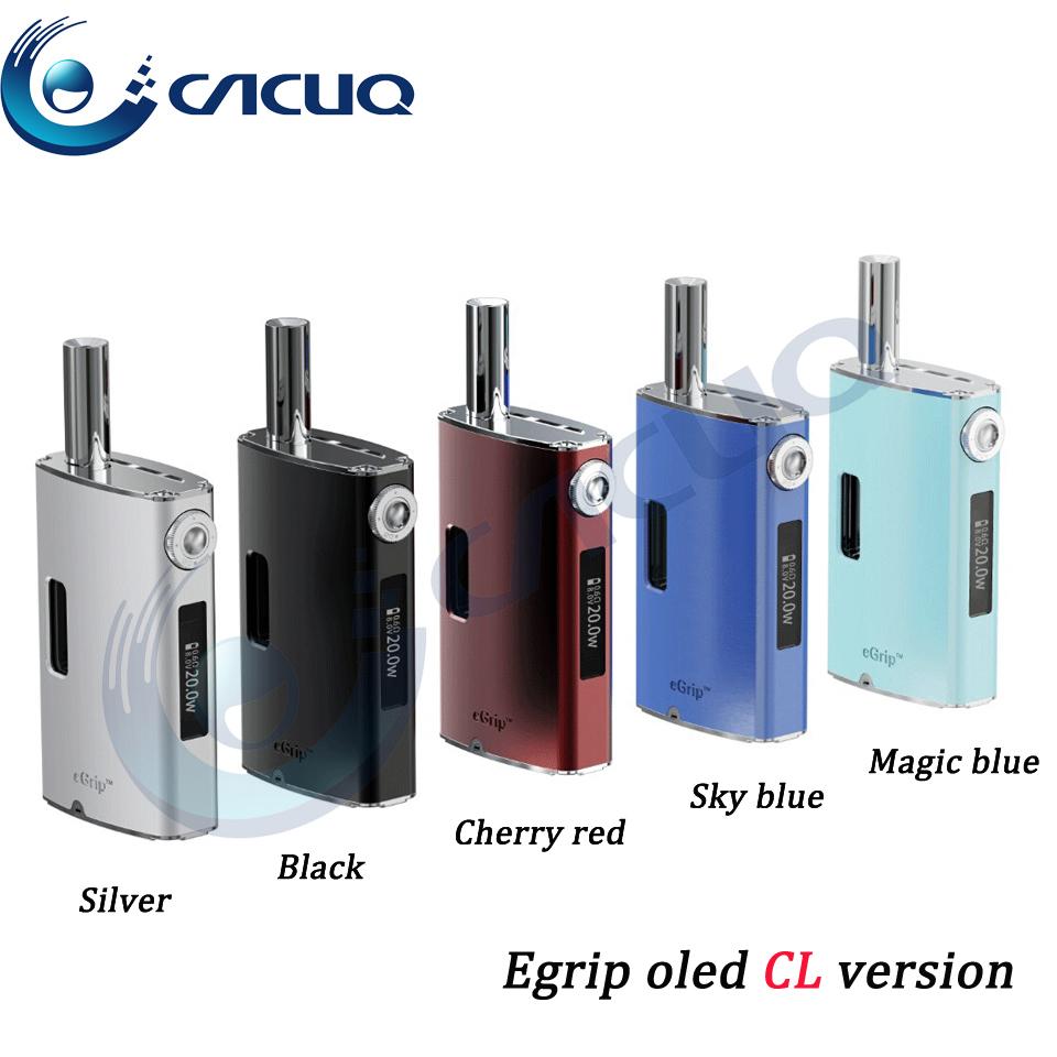 5pc/lot! DHL free joyetech egrip oled CL new version e cigarette kits 1500mah battery joye egrip oled joytech e ciga egrip oled(China (Mainland))