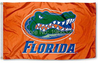 College Florida Gators Flag UF Orange Banner Large NCAA 3ft x 5ft 144* 96cm Custom flag(China (Mainland))