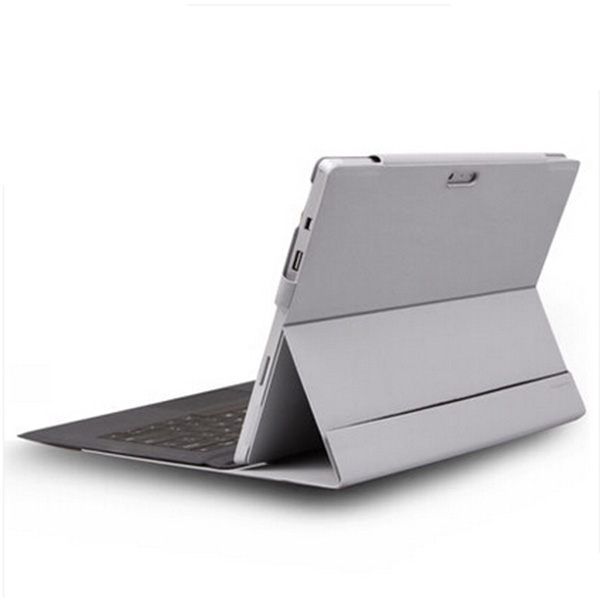 New Microsoft Tablet For Surface 3 Pro 4 leather sheath  sets of Microfiber Leather Case 10.1  Pure color Protective Gray<br><br>Aliexpress