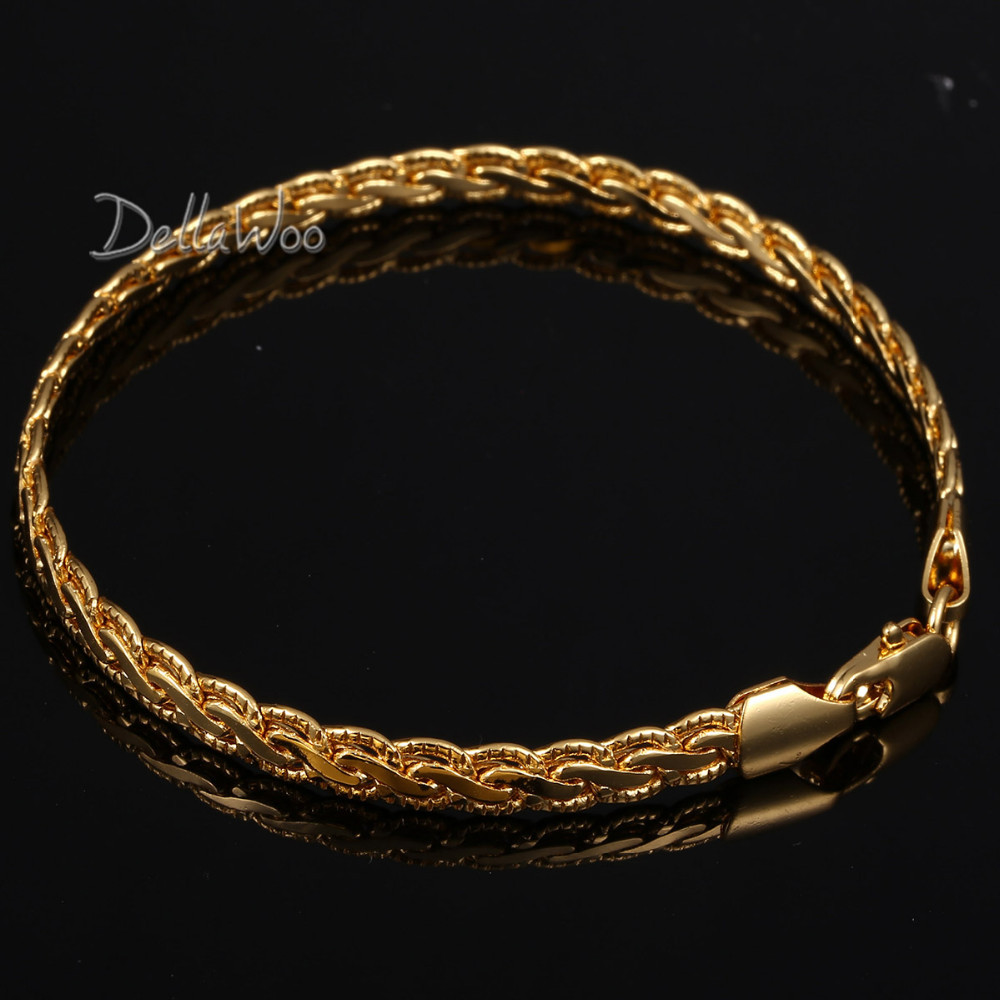 Buy 5mm mens womens chain 18k gold filled for Gold filled jewelry