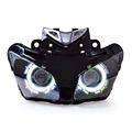 KT Headlight for Honda CBR500R 2013 2015 LED Angel Eye Motorcycle HID Projector Assembly 2014