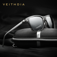 VEITHDIA Brand Unisex Retro Aluminum+TR90 Sunglasses Polarized Lens Vintage Eyewear Accessories Sun Glasses For Men/Women 6108(China (Mainland))