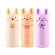 Original Korea Cosmetic Pocket Bunny Perfume Bar 9g 3 Fragrance Women Perfume Deodorant Non-alcoholic Fragrance Cream 1pcs(China (Mainland))