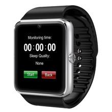 Gt80 смарт-bluetooth часы с камерой Bluetooth наручные часы поддержка SIM карты для Apple , iPhone и Samsung Smartwatch