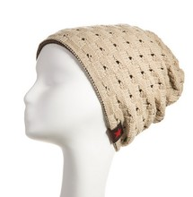 winter reversible beanie men hat womens hats,snow caps knit hat skull chunky baggy warm skullies,touca gorro,CfW(China (Mainland))