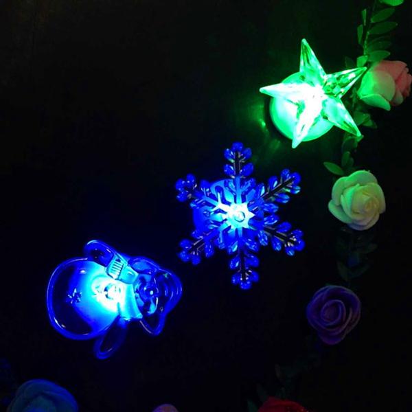 Led Wall Light Flashing: Christmas Gifts Colorful LED Flashing Small Night Light