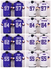 100% Stitiched,Minnesota Vikings,Everson Griffen,Cordarrelle Patterson,Kyle Rudolph,Anthony Barr,Adrian Peterson,Elite for men's(China (Mainland))