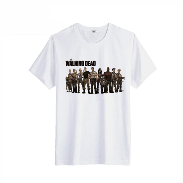 The Walking Dead Printed T-shirt – Unisex Short Sleeve Cotton Tee