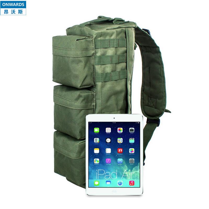 ONWARDS Outdoor Tactical Single-shoulder Army green Shoulder Packs Military Mens Molle Messenger Bags Sports Waterproof Bolsas(China (Mainland))
