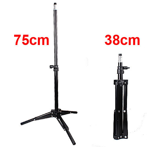 2pcs/lot Mini 38cm Studio Lighting Photo Light Stand Bracket For Flash Strobe Light #301(China (Mainland))