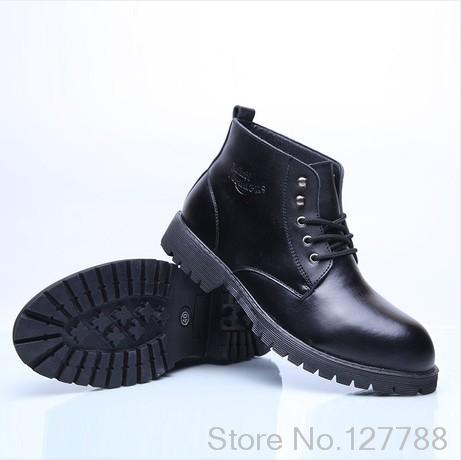 New arrival fashion motorcycle boots the most popular black martin boots comfortable genuine leather men shoes #C036<br><br>Aliexpress