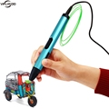 New 4th 3D Printing Pens Drawing 3D printer Pen With ABS Filament 3D Best Gift Kids