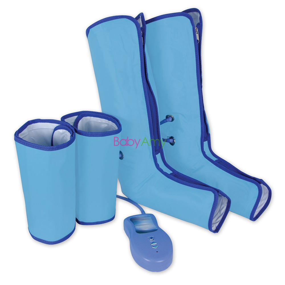 Air Compression Leg Wraps Regular Massager Foot Ankles Calf Therapy Circulation Healthcare Compression Left & Right Leg Massager(China (Mainland))