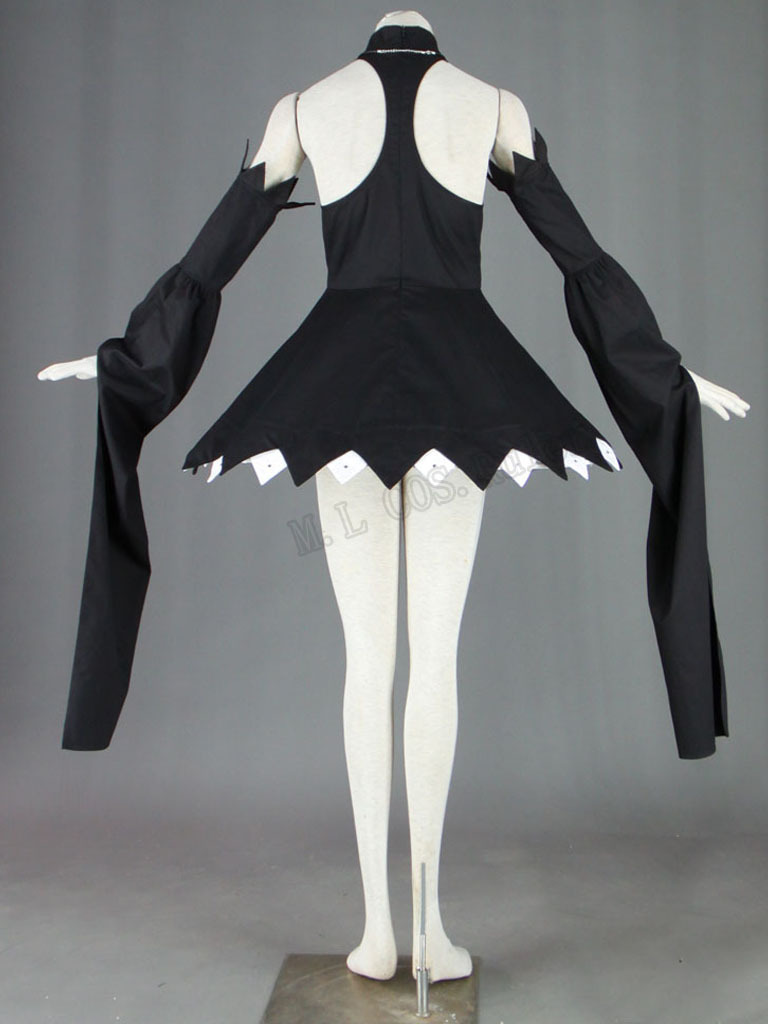 Soul Eater Blair Cosplay Costume Full Set Customized Free Shipping(China (Mainland))