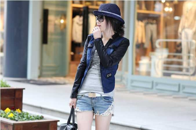 сексуальная feminino короткие джинсы джинсовые шорты для женщин лето плюс размер крючком кружева светло-голубой середины талии разорвал