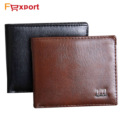 2015 Brand New Men's PU Leather Wallet Men Wallets Coin Pocket Fashion Short Design Purse, 528(China (Mainland))