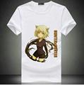 Free Shipping Anime Hunter X Hunter Print T Shirt Cotton White Hunter X Hunter Tops Tees