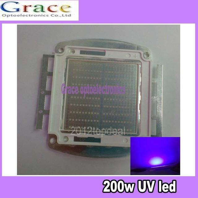 200W Ultra Voilet UV LED lamp light 395-400nm led bead 7000mA 30-36V by fedex dhl free shipping