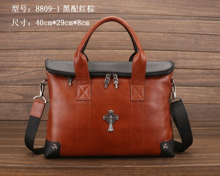 Mixed color Brand Best quality 100% Genuine Leather Shoulder Bags Business Bags Messenger Travel Handbag Tote bag 1DAY SHIPPING(China (Mainland))