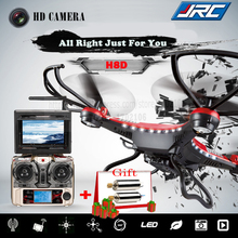 Drone JJRC H8D 2.4Ghz Headless Mode One Key Return 5.8G FPV RC Quadcopter With 2MP Camera Updated JJRC H8C 300M Distance W/ Gift(China (Mainland))