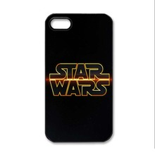 Star Wars Logo Back Skin Case for iphone4 4s 5 5s 5c and 6 6 Plus