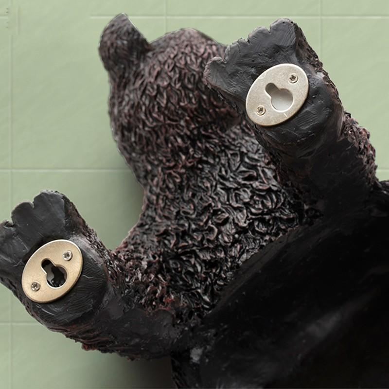 Купить Творческий Милые Животные Ручной Работы Смолы Настенные Держатель Туалетной Бумаги Ролл Медведь Ванная Кухня Держатель Туалетной Бумаги Бар
