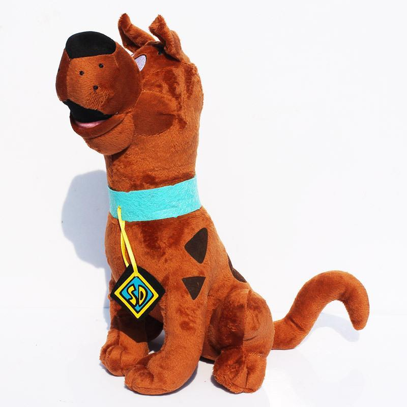 Soft Plush Cute Scooby Doo Dog Dolls Stuffed Toy New 13.7inch - The Global Best Selling store