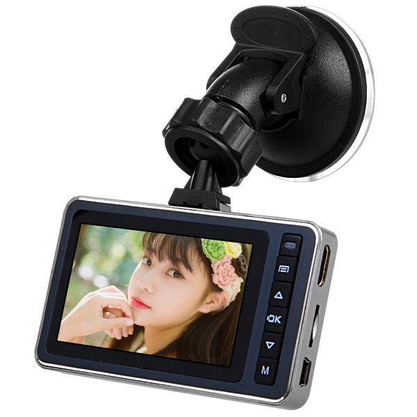 2.7 inch LCD 1080P Full HD Car Camcorder Cycle Recording Dashcam Video Recorder DVR Supports MicroSD Memory Card/G-sensor/GPS(China (Mainland))