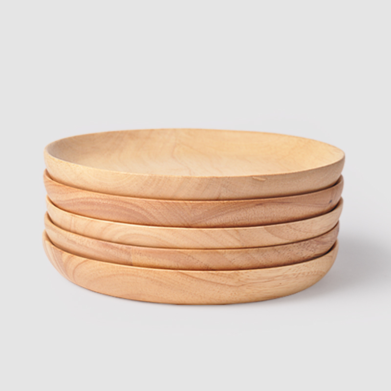 Online buy wholesale wood plates from china wood plates for Cuisine wooden