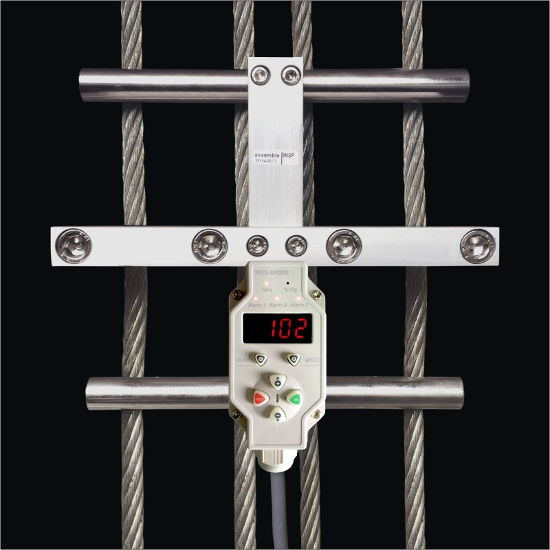 Elevator parts Elevator overload load measuring device Multi wire rope tension detection WDS-MR100<br><br>Aliexpress