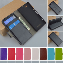 Buy C1905 Flip Wallet Stand PU Leather Case Sony Xperia M C1905 C1904 Dual C2004 C2005 Phone Cover Card Holder J&R Brand for $3.99 in AliExpress store