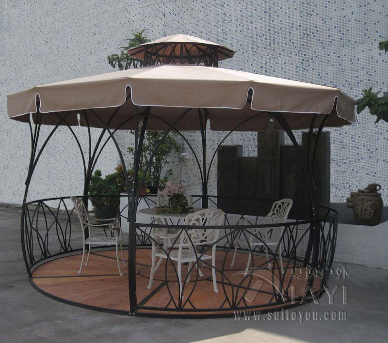Online Buy Wholesale Metal Garden Pavilion From China