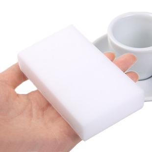 100 pcs/lot white Magic Sponge Eraser Melamine Cleaner,multi-functional Cleaning 100x60x20mm Wholesale & Retial(China (Mainland))