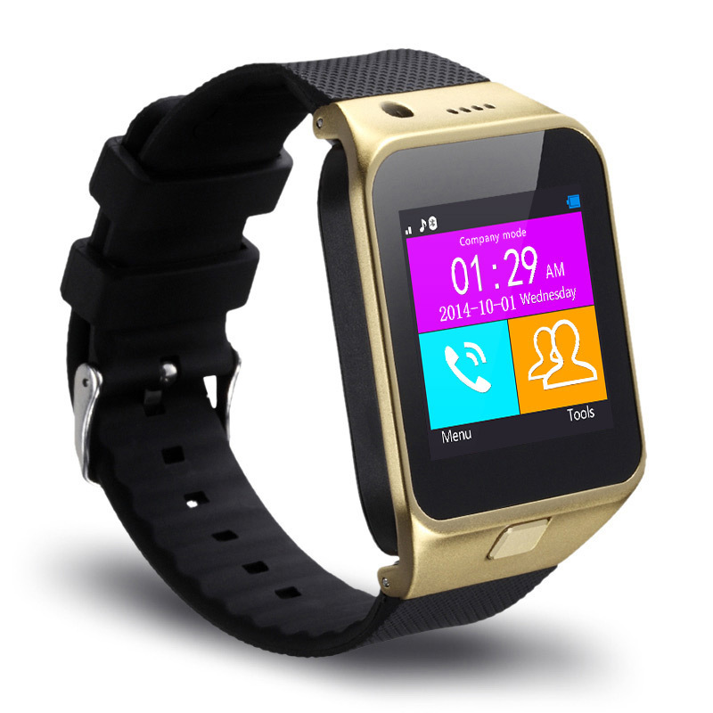 """Fashion smart bluetooth watch 1.55"""" 1.3 camra TF and SIM card slot smart phone watch For android mobile cell phone For samsung(China (Mainland))"""