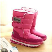Mujeres botas de nieve de gran tamaño 35-41 botas de invierno zapatos súper calientes de la felpa botas de plataforma 8 colores moda Women Shoes p9c05(China (Mainland))