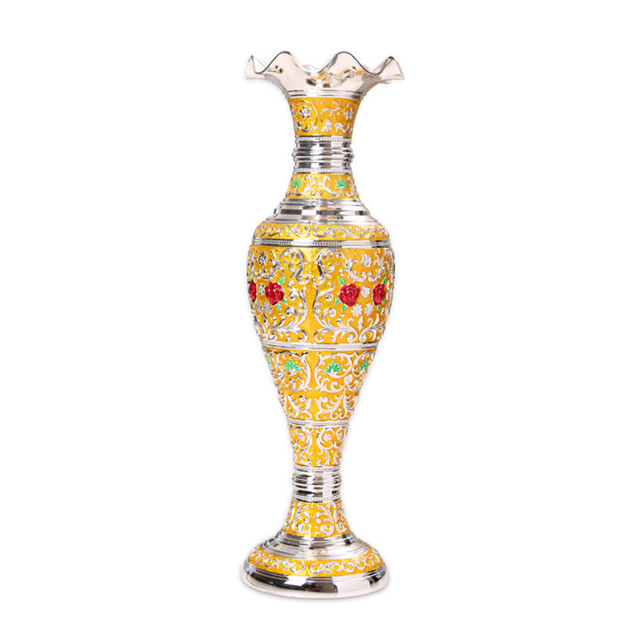 Home Decor Wedding Gift Craft Gold Vase In Vases From Home