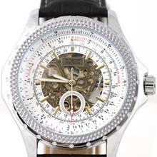Jargar mens relojes mecánicos del reloj de la tendencia de la moda para hombre totalmente automático 2013 j084