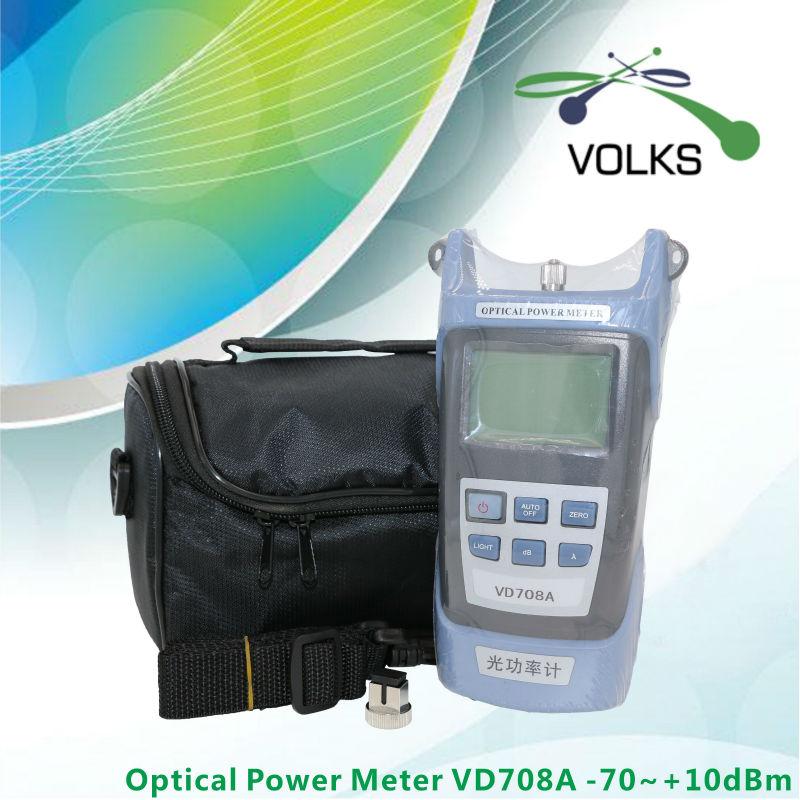 fiber optical power meter VD708A -70~+10dBm with Bag free shipping(China (Mainland))